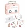 Kép 1/4 - Orvosi táska pasztell rózsaszín Jabadabado