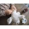 Kép 4/5 - Plüss kiskutya házikóval