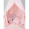 Kép 2/6 - Little Dutch indián sátor szőnyeggel és zászlókkal -rózsaszín