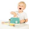 Kép 3/3 - Label Label fa játék kenyérpirító - menta