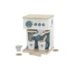 Kép 1/3 - Label Label fa játék kávéfőző szett - menta