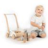 Kép 2/3 - Label Label fa járássegítő építőelemekkel -kék
