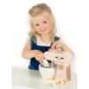 Kép 2/4 - Label Label fa játék mixer szett-rózsaszín