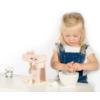 Kép 3/4 - Label Label fa játék mixer szett-rózsaszín