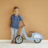 Kép 7/8 - Little Dutch scooter fa robogó - kék