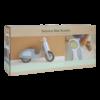 Kép 8/8 - Little Dutch scooter fa robogó - kék