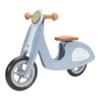 Kép 1/8 - Little Dutch scooter fa robogó - kék