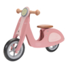 Kép 1/8 - Little Dutch scooter fa robogó - pink