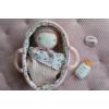 Kép 3/6 - Little Dutch Rosa baba mózeskosárban