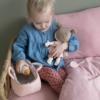 Kép 6/6 - Little Dutch Rosa baba mózeskosárban