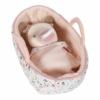 Kép 5/6 - Little Dutch Rosa baba mózeskosárban