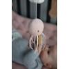 Kép 5/8 - Little Dutch zenélő körforgó natúr fa vázzal - tengeri állatos, pink