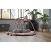 Kép 6/6 - Little Dutch játszószőnyeg játékhíddal - tengeri állatos, pink