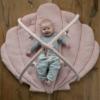 Kép 4/6 - Little Dutch játszószőnyeg játékhíddal - tengeri állatos, pink