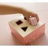 Kép 3/5 - Little Dutch formabedobó kocka - pink