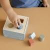 Kép 2/5 - Little Dutch fa formabedobó játék - adventure kék