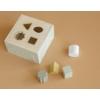 Kép 2/6 - Little Dutch fa formabedobó kocka - olívazöld