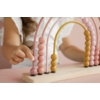 Kép 4/6 - Little Dutch abacus szivárvány játék - adventure pink