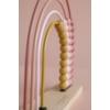 Kép 6/6 - Little Dutch abacus szivárvány játék - adventure pink