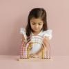 Kép 2/6 - Little Dutch abacus szivárvány játék - adventure pink