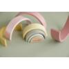 Kép 4/5 - Little Dutch szivárvány építő - pink