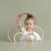 Kép 5/5 - Little Dutch szivárvány építő - pink