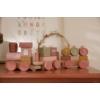 Kép 5/5 - Little Dutch vonat fából - pink
