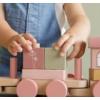 Kép 4/5 - Little Dutch vonat fából - pink