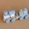 Kép 4/4 - Little Dutch vonat fából - kék