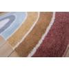 Kép 3/6 - Little Dutch Pure&Nature szivárványos gyerekszőnyeg, 130x80 cm