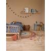 Kép 5/6 - Little Dutch Pure&Nature szivárványos gyerekszőnyeg, 130x80 cm