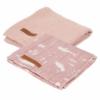 Kép 2/2 - Little Dutch muszlinkendő 2 db - pink óceán