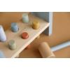 Kép 5/7 - Little Dutch fa kalapáló játék kék