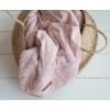 Kép 3/3 - Textilpelenka 120x120 cm - lils leaves pink