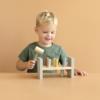Kép 4/7 - Little Dutch fa kalapálós játék olívazöld