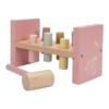 Kép 2/6 - Little Dutch fa kalapáló játék pink