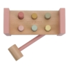 Kép 3/6 - Little Dutch fa kalapáló játék pink
