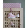 Kép 4/4 - Little Dutch felhúzható & zenélő bálna - pink