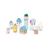 Kép 3/5 - Petit Monkey Suzie's city - városépítő játék fából