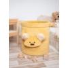 Kép 1/5 - Teddy játéktároló - mustársárga