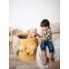 Kép 3/5 - Teddy játéktároló - mustársárga