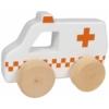 Kép 1/2 - Tryco fa játék mentő autó