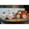 Kép 2/2 - Tryco fa játék mentő autó