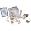 Kép 2/6 - Tryco fa játék orvosi szett táskában