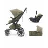 Kép 1/5 - Concord Neo Plus Mobility Set multifunkciós babakocsi - Moss Green