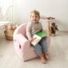 Kép 3/4 - Albero Mio Velvet Kids babafotel - V105 Sötét kék