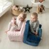 Kép 4/4 - Albero Mio Velvet Kids babafotel - V105 Sötét kék