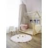 Kép 3/4 - Kör alakú játszószőnyeg fodros - rózsaszín