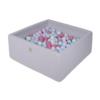 Kép 1/3 - Szögletes labdamedence 200 labdával - Icecream
