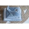 Kép 4/4 - Little Dutch plüss játék bálna - kék 25 cm
